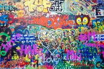 Prague - Memorial wall von Leopold Brix