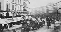 View of Regent Street, c1884 by Bridgeman Art