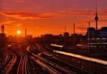 Berlin Friedrichshain Skyline von Marcus  Klepper