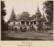 Teik Kyaung monastery, isle of Ka Toe von Bridgeman Art
