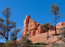 Rock Of Ages -- Red Canyon State Park by John Bailey