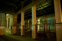 Balmain Power Station interior at Night by Tim Leavy