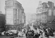 View of Tottenham Court Road, c1885  by Bridgeman Art
