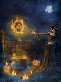 Halloween Spells by dania