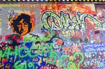 Prague - Grafitti #2 von Leopold Brix