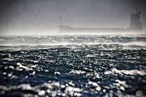 Ship in the storm by Giorgio  Perich