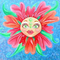 Doll Face Flower by Katri Ketola