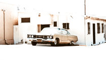 Overexposed 1968 Dodge Polara in San Diego, California von monkeycrisisonmars