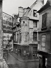 Rue Vieille-du-Temple, Paris, 1858-78 von Bridgeman Art