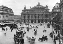General view of the Paris Opera House by Bridgeman Art