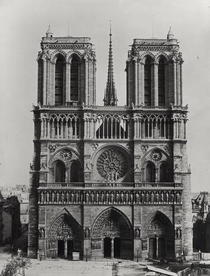 Facade of Notre-Dame, Paris, late 19th century von Bridgeman Art