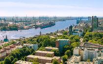 Hamburg von oben von Frank  Jeßen