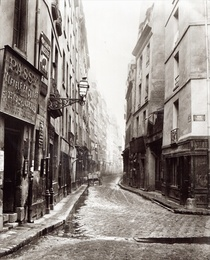 Rue Aumaire, from the Rue Volta, Paris, 1858-78 by Bridgeman Art