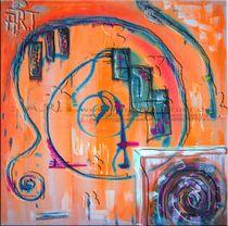 Oracle - Orange  von antoni