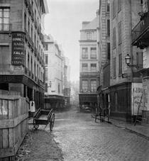 Rue des Bourdonnais from rue de la Poterie von Bridgeman Art