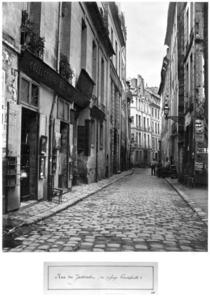 Rue du Jardinet, from passage Hautefeuille, Paris by Bridgeman Art
