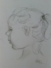 Innocence in profil by lizzie-rena