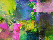 Farbenzirkus II von Wolfgang Rieger