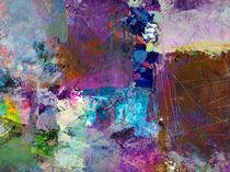 Farbenzirkus III von Wolfgang Rieger