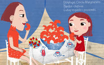 Croissant with my aunt by leni-illustrations