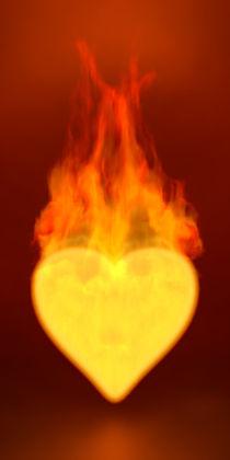 Brennendes Herz von dresdner