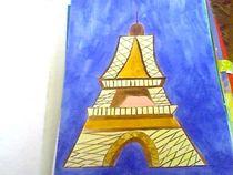Eiffel Tower von nellyart