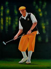 Payne Stewart painting von Paul Meijering