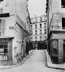 Rue Maitre Albert from place Maubert Paris by Bridgeman Art