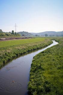 Landschaft mit Fluss von sylbe