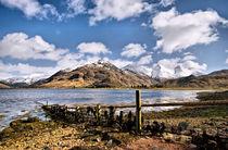 Loch Duich Scotland by Jacqi Elmslie