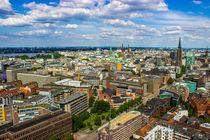 Über Hamburgs Dächern von Dennis Stracke