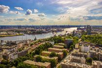 Blick über die Elbe von Dennis Stracke