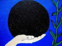 The hand that holds the universe von Carmen Lambert