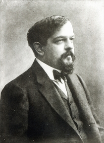 Claude Debussy, c1908 von Bridgeman Art