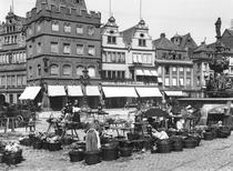 The Market Place at Trier, c1910 by Bridgeman Art