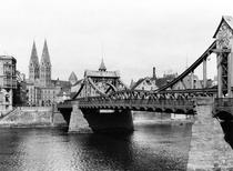 Weser Bridge, Bremen, c1910 von Bridgeman Art