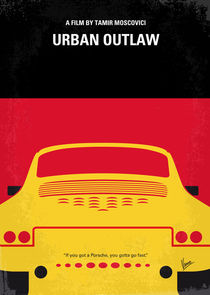 No316 My URBAN OUTLAW minimal movie poster von chungkong