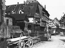View of the Old Quarter, Ulm, c1910 von Bridgeman Art