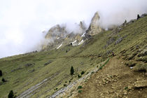 Berge im Nebel von Jens Berger