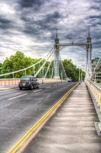 Chelsea bridge London by David Pyatt