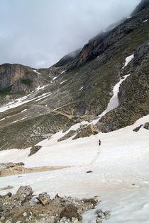 Wandern im Schnee von Jens Berger