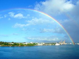 Double-rainbow-honolulu