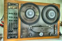 Saba Tonbandmaschine by Heike Loos