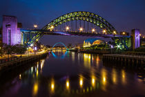 The Sage and Tyne Bridge von Wayne Molyneux