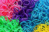 Loom Bands by Clare Bevan