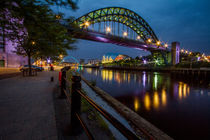 Tyne Bridge and The Sage by Wayne Molyneux