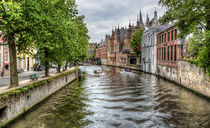 The Groenerei Canal in Bruges (Belgium) von Marc Garrido Clotet