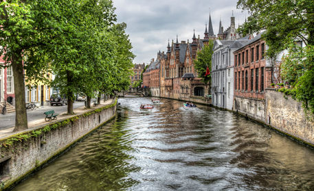The-groenerei-canal-in-bruges