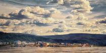 Dawson City und Yukon River von Priska  Wettstein