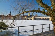 Kitzingen im Winter von Heiko Esch